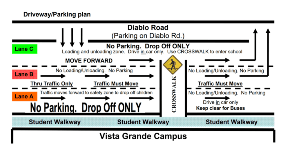Map of Parking Lot